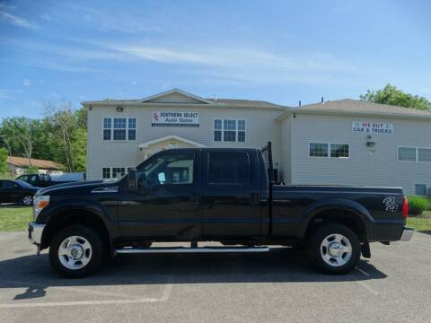 2011 Ford F-250 Super Duty for sale at SOUTHERN SELECT AUTO SALES in Medina OH