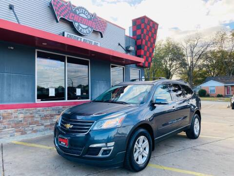 2014 Chevrolet Traverse for sale at Chema's Autos & Tires in Tyler TX