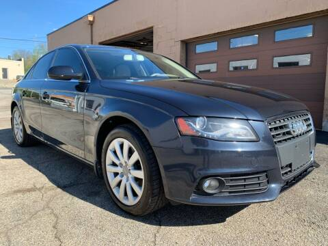 2012 Audi A4 for sale at Martys Auto Sales in Decatur IL