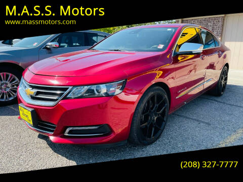 2015 Chevrolet Impala for sale at M.A.S.S. Motors in Boise ID
