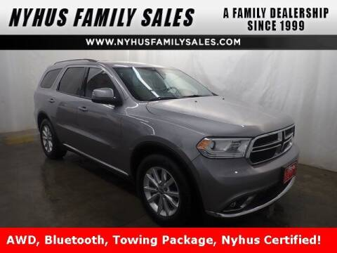 2015 Dodge Durango for sale at Nyhus Family Sales in Perham MN
