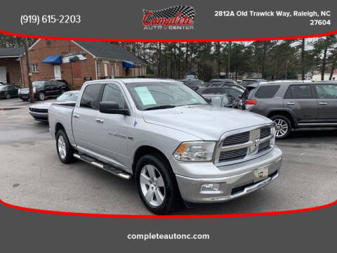 2011 RAM Ram Pickup 1500 for sale at Complete Auto Center , Inc in Raleigh NC