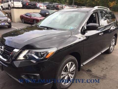 2020 Nissan Pathfinder for sale at J & M Automotive in Naugatuck CT