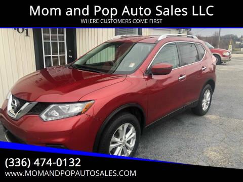 2016 Nissan Rogue for sale at Mom and Pop Auto Sales LLC in Thomasville NC