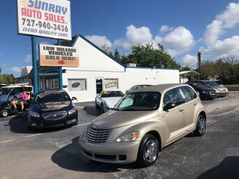 2006 Chrysler PT Cruiser for sale at Sunray Auto Sales Inc. in Holiday FL