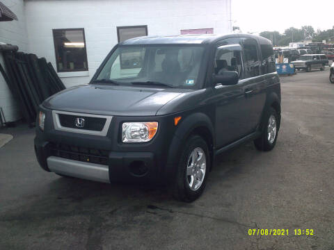 2005 Honda Element for sale at M & M Inc. of York in York PA
