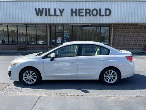 2012 Subaru Impreza for sale at Willy Herold Automotive in Columbus GA