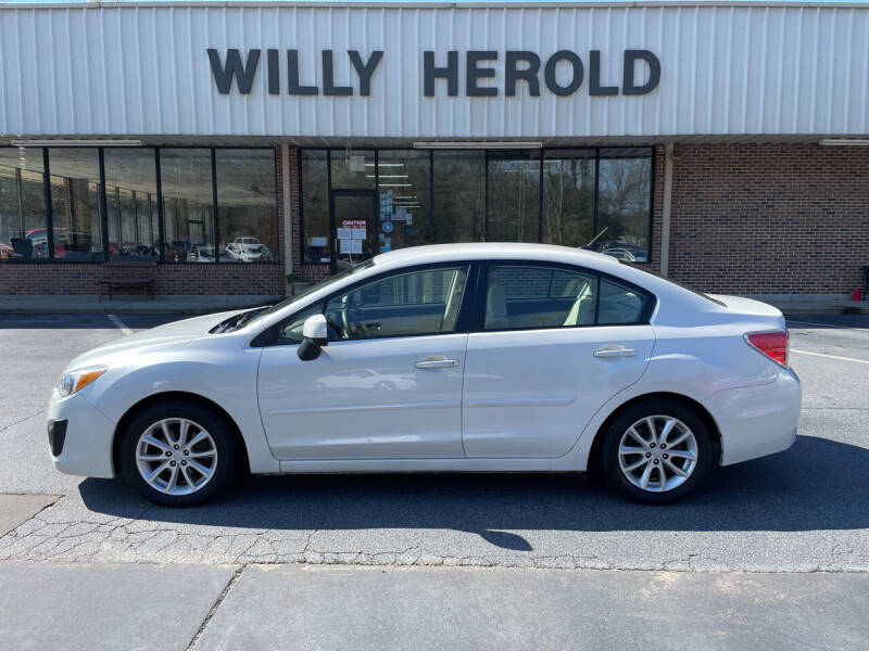 2012 Subaru Impreza for sale at Willy Herold Automotive in Columbus GA