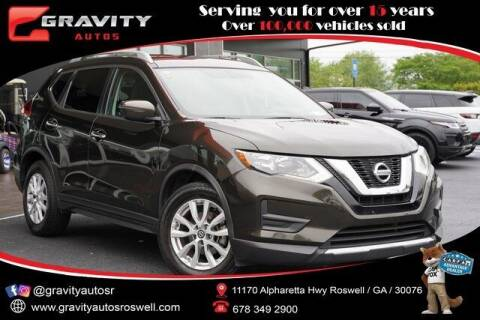 2017 Nissan Rogue for sale at Gravity Autos Roswell in Roswell GA