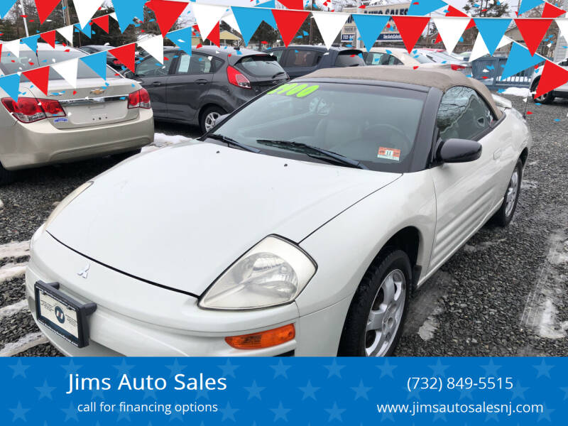 2004 Mitsubishi Eclipse Spyder for sale at Jims Auto Sales in Lakehurst NJ