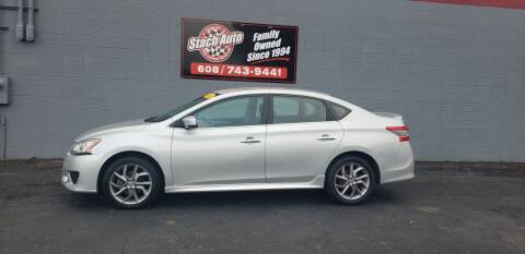 2014 Nissan Sentra for sale at Stach Auto in Janesville WI