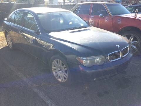 2002 BMW 7 Series for sale at ASAP Car Parts in Charlotte NC