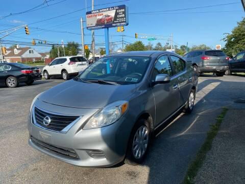2012 Nissan Versa for sale at Union Avenue Auto Sales in Hazlet NJ