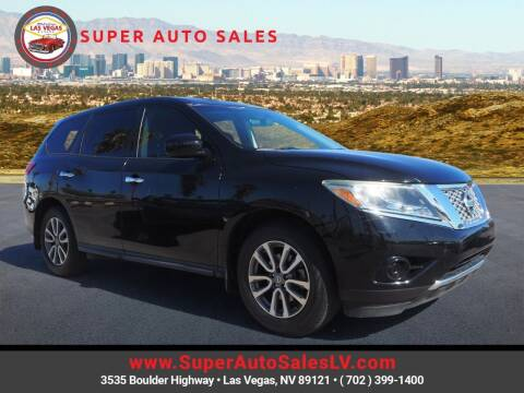 2014 Nissan Pathfinder for sale at Super Auto Sales in Las Vegas NV