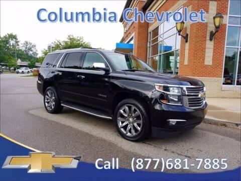 2016 Chevrolet Tahoe for sale at COLUMBIA CHEVROLET in Cincinnati OH