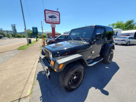 2006 Jeep Wrangler for sale at Ford's Auto Sales in Kingsport TN