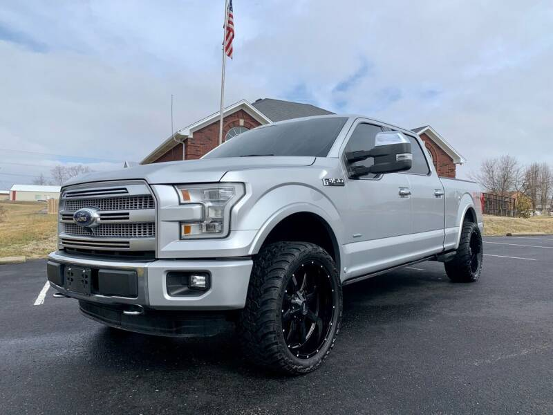2015 Ford F-150 for sale at HillView Motors in Shepherdsville KY