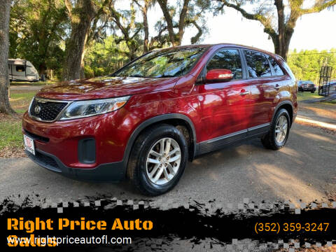 2014 Kia Sorento for sale at Right Price Auto Sales-Gainesville in Gainesville FL