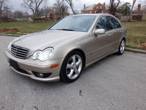 2005 Mercedes-Benz C-Class for sale at RENNSPORT Kansas City in Kansas City MO