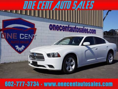 2014 Dodge Charger for sale at One Cent Auto Sales in Glendale AZ