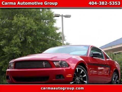 2012 Ford Mustang for sale at Carma Auto Group in Duluth GA