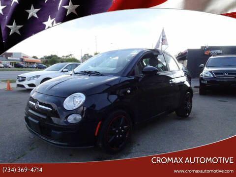 2015 FIAT 500 for sale at Cromax Automotive in Ann Arbor MI