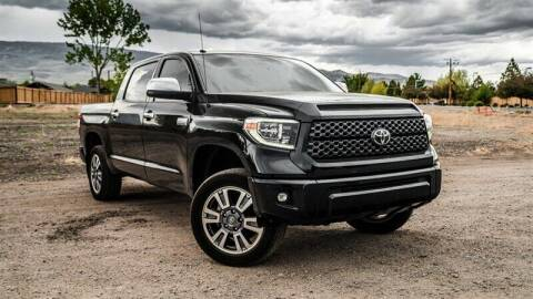 2018 Toyota Tundra for sale at MUSCLE MOTORS AUTO SALES INC in Reno NV