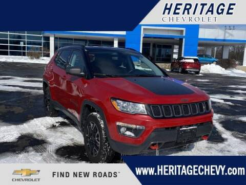 2020 Jeep Compass for sale at HERITAGE CHEVROLET INC in Creek MI