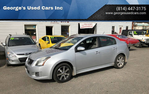 2011 Nissan Sentra for sale at George's Used Cars Inc in Orbisonia PA