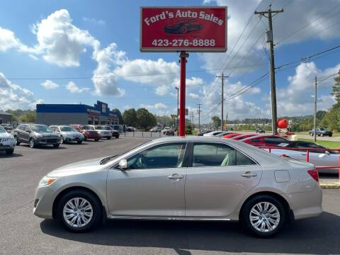 2014 Toyota Camry for sale at Ford's Auto Sales in Kingsport TN