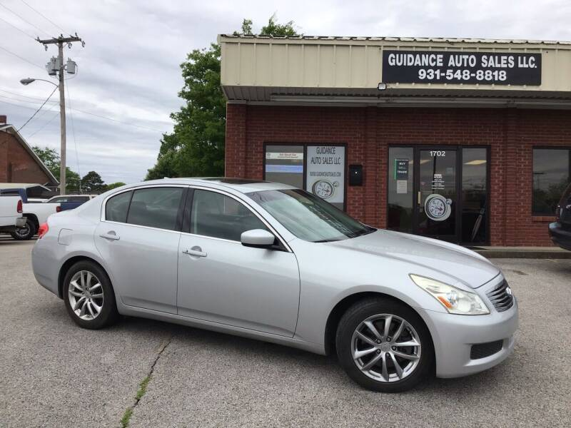 2009 Infiniti G37 Sedan for sale at Guidance Auto Sales LLC in Columbia TN