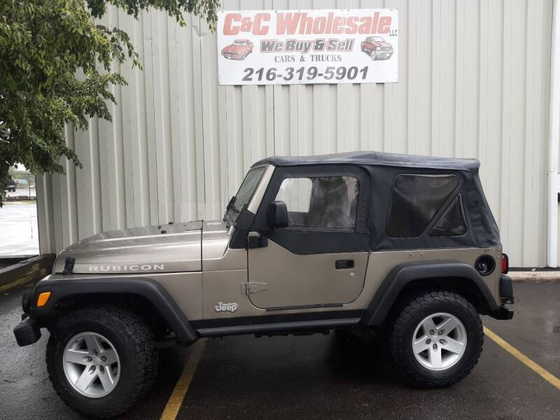 2003 Jeep Wrangler for sale at C & C Wholesale in Cleveland OH