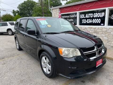2013 Dodge Grand Caravan for sale at GOL Auto Group in Austin TX