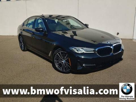 2021 BMW 5 Series for sale at BMW OF VISALIA in Visalia CA