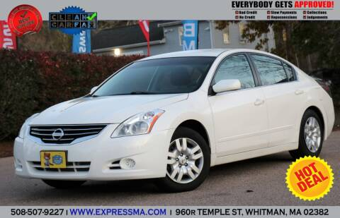 2011 Nissan Altima for sale at Auto Sales Express in Whitman MA