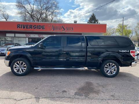 2009 Ford F-150 for sale at RIVERSIDE AUTO SALES in Sioux City IA