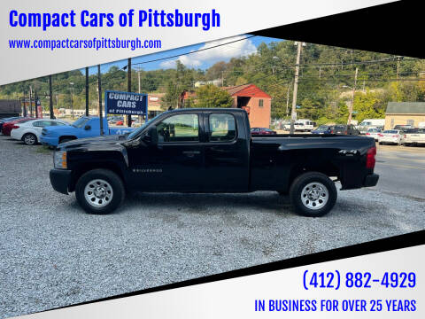 2008 Chevrolet Silverado 1500 for sale at Compact Cars of Pittsburgh in Pittsburgh PA