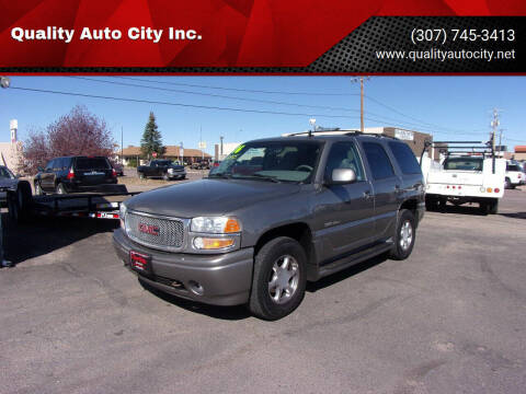 2006 GMC Yukon for sale at Quality Auto City Inc. in Laramie WY