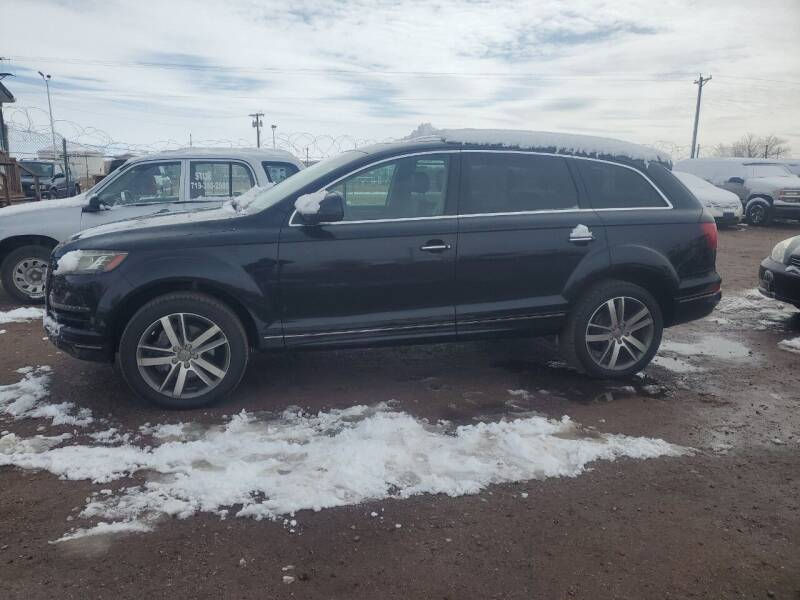 2010 Audi Q7 for sale at PYRAMID MOTORS - Fountain Lot in Fountain CO