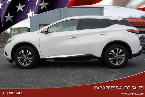 2015 Nissan Murano for sale at Car Xpress Auto Sales in Pittsburgh PA