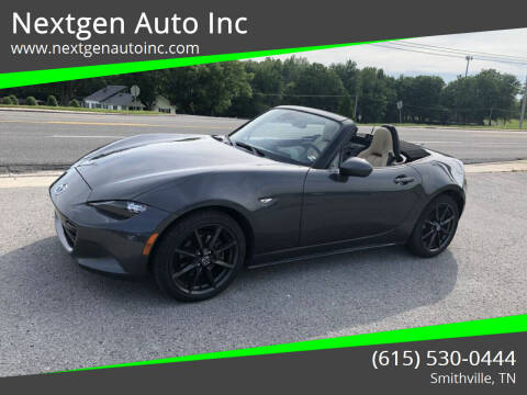 2016 Mazda MX-5 Miata for sale at Nextgen Auto Inc in Smithville TN
