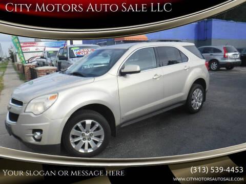 2010 Chevrolet Equinox for sale at City Motors Auto Sale LLC in Redford MI