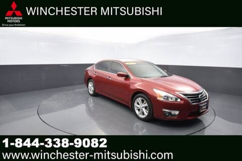 2013 Nissan Altima for sale at Winchester Mitsubishi in Winchester VA