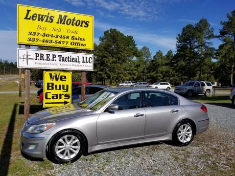 2013 Hyundai Genesis for sale at Lewis Motors LLC in Deridder LA