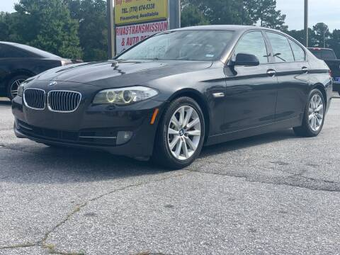 2011 BMW 5 Series for sale at Luxury Cars of Atlanta in Snellville GA