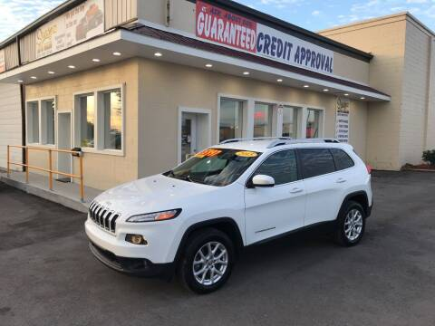 2015 Jeep Cherokee for sale at Suarez Auto Sales in Port Huron MI