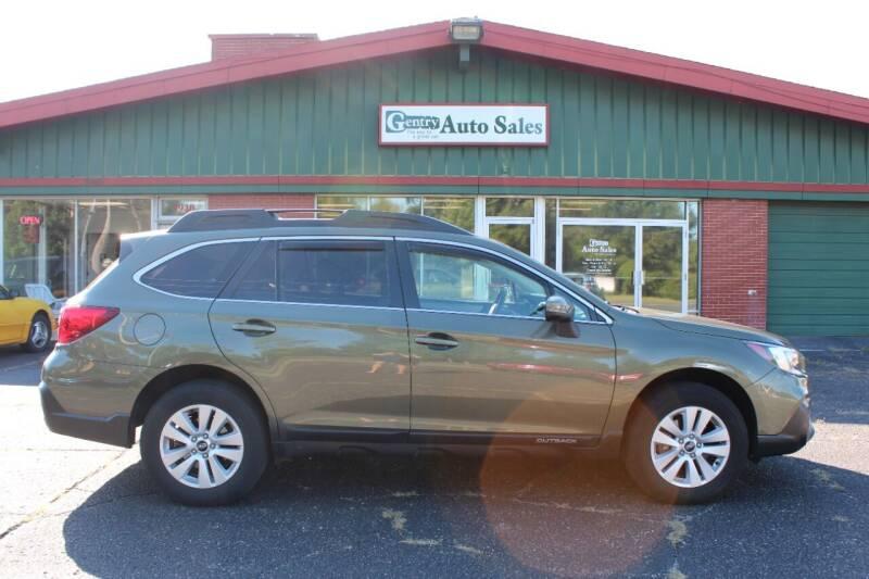 2018 Subaru Outback for sale at Gentry Auto Sales in Portage MI