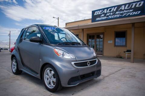 2013 Smart fortwo for sale at Beach Auto and RV Sales in Lake Havasu City AZ