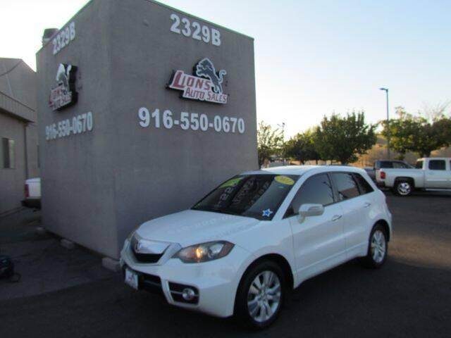 2011 Acura RDX for sale at LIONS AUTO SALES in Sacramento CA