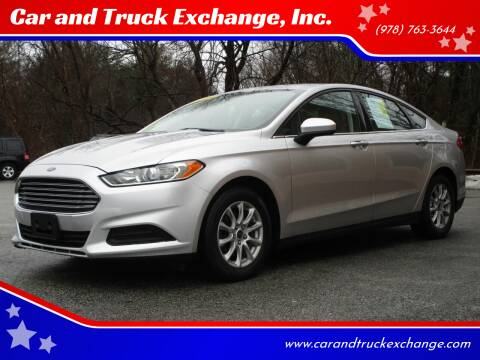 2015 Ford Fusion for sale at Car and Truck Exchange, Inc. in Rowley MA